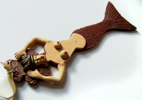Mermaid Ornament No. 22