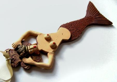 Mermaid Ornament No. 22
