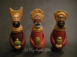 Three Kings (Finger Puppets)