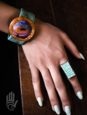 Abstract Cuff Bracelet 4