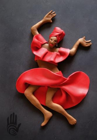 Bomba Dancer Red
