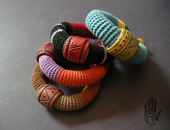 Crochet Bracelet Group