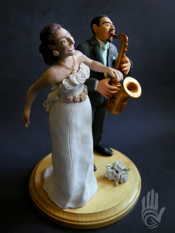 Eddie and Gigi Wedding Cake