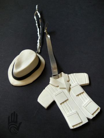 Panama Hat and Guayabera Shirt