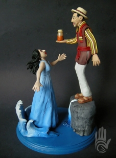 Peggy Robles Cake Topper