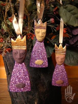 Reyes Ornament Set