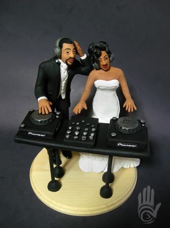 Veronica Ramos Wedding Cake Topper