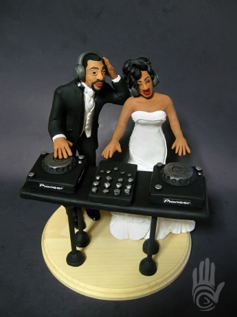 Veronica Ramos Wedding Cake Topper