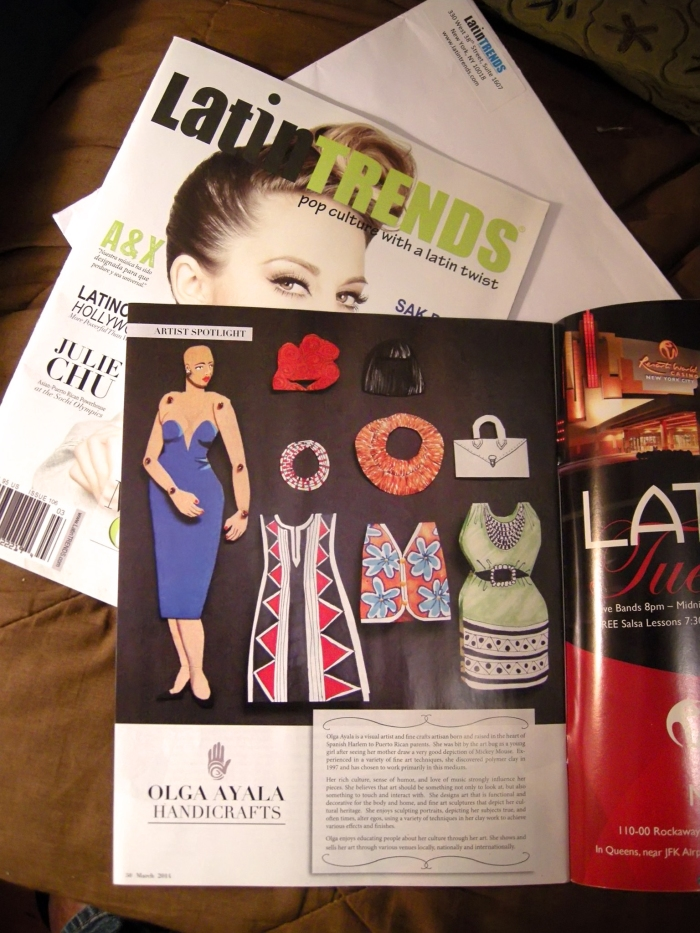 LatinTRENDS Magazine Artist Spotlight: Olga Ayala